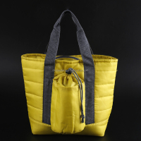 Polyester Cooler bag for frozen food/cooler tote bag