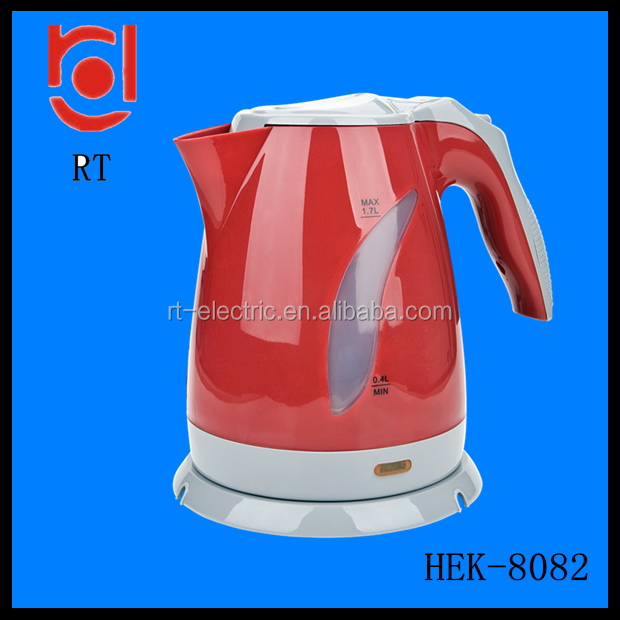 360 Degree Rotational Base Feature and Yes Automatic Shut-off plastic electric kettle