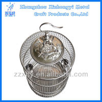Strong & durable stainless steel bird cages