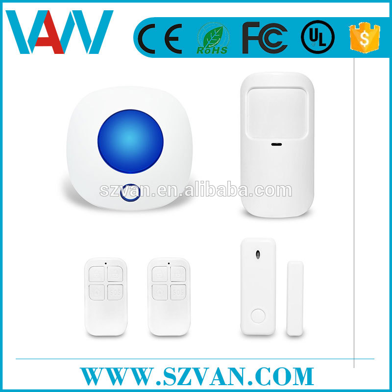 High brightness CE RoHS gsm sms alarm device manufactured in China