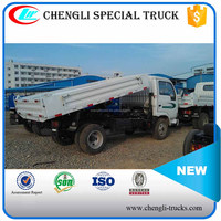 CHINA IVECO 2 ton loading 2.5cbm capacity 6 wheeler 4*2 type right hand drive yuejin mini tipper truck