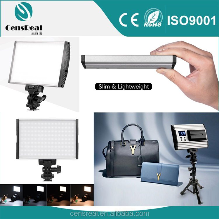 Portable Slim Led Video Light 144 led Camera Led Light