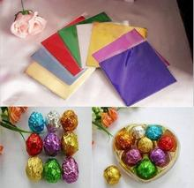 colored chocolate wrapping tin foil chocolate wrapper aluminum foil for food