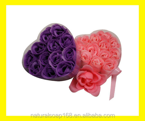12 pcs flower paper soap
