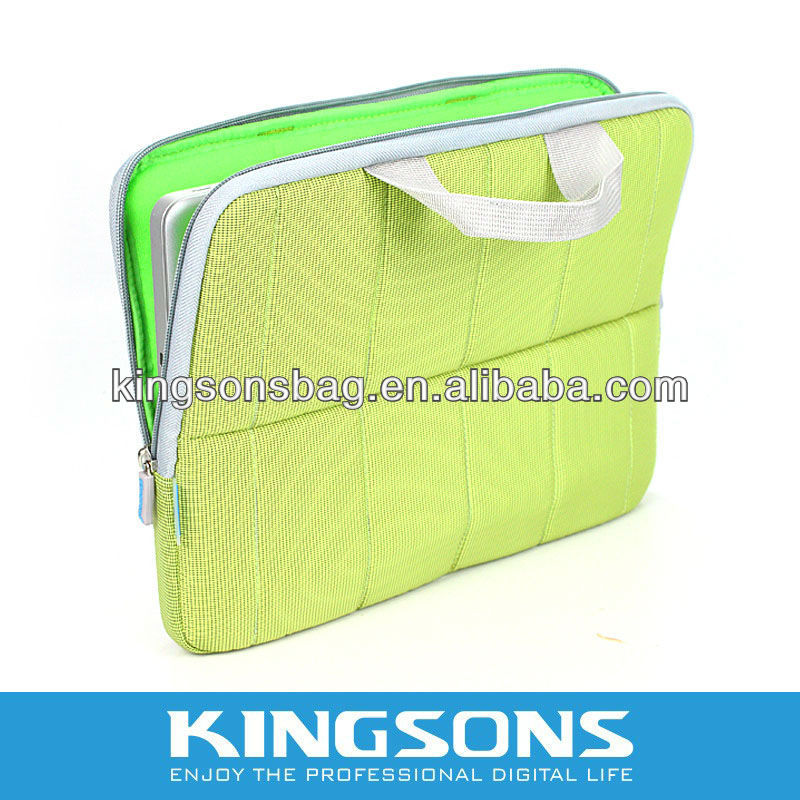 "14"" colorful nylon laptop sleeve"