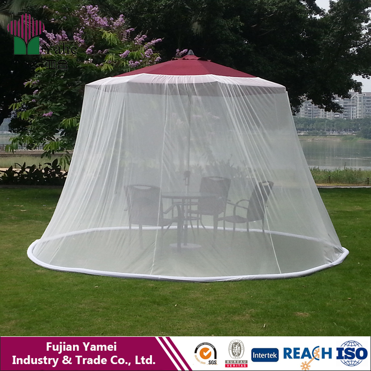Out Sunny Umbrella Mosquito Net Canopy Patio Set Screen House