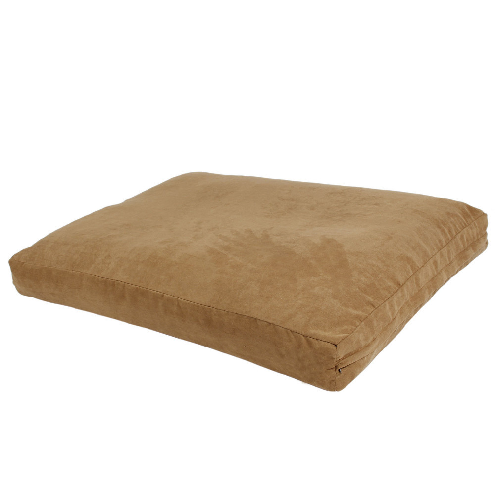 supreme quality dog bed pet bed with memory foam scraps filling