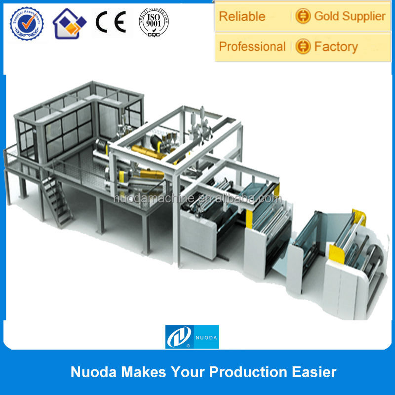 Fujian Nuoda PP Film Ribbon Making Machine / film prodcution line
