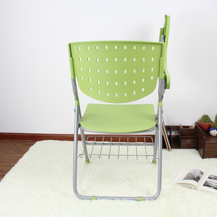 green plastic folding chair for outdoor