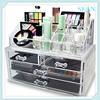 Clear Acrylic Makeup Organizer With Drawers