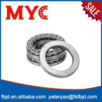 51418 Bearing Steel Single Row Axial Thrust Ball Bearing