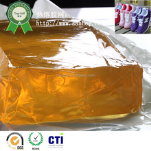 Professional cheap fast yellow polyester hot melt adhesive glue for shoes