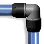 Durable quality and competitive price 90 elbow pipe joint