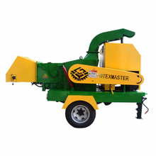 40HP Forest Machinery Diesel Engine Wood Chipper Shredder Machine for Chipping Wood