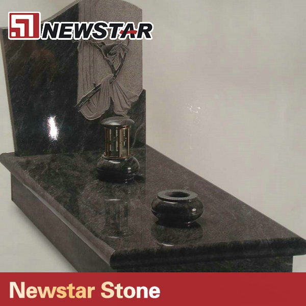Newstar black Granite Tombstone South Africa