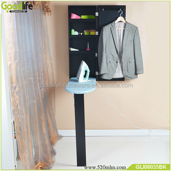 China factory wall mounted folding ironing table