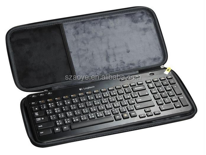 Hard shell storage EVA travel case for wireless keyboard