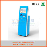 shop billing machines/ shopping mall vending kiosk