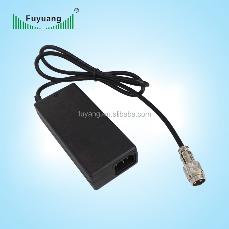 Car batteries 36v li-ion battery charger for e bike hoverboard charger