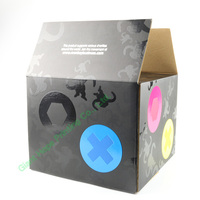custom design paper corrugated box for electronic toys packing