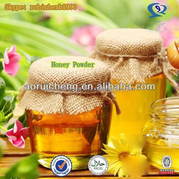 100% natural honey powder