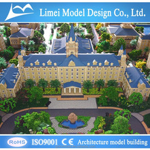 architectural model rendering /commercial scale model / building maker