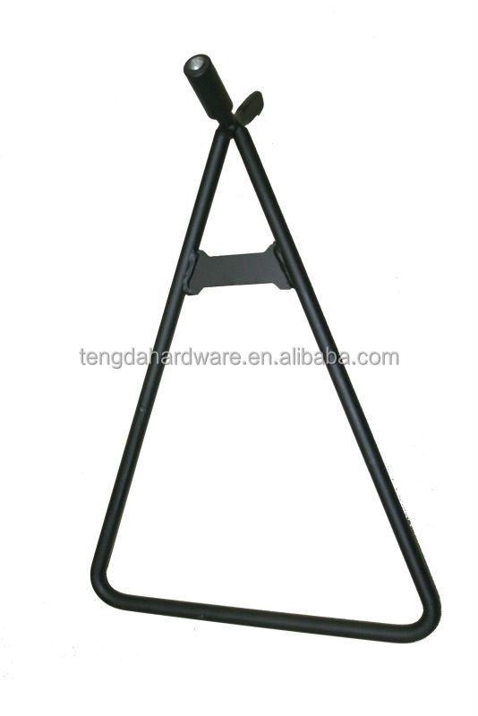 Triangle side stand for motorcycle