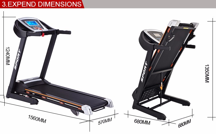 Small Electric Treadmill With 7 39 39 Tft Touch Screen Wifi