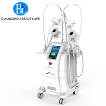 Non-invasive sculpture body cryolipolysis slimming machine for freezing fat cells reduction