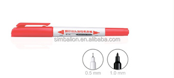 DUAL-TIP PERMANENT MARKER - 1.0 mm FINE & 0.5 mm EXTRA FINE