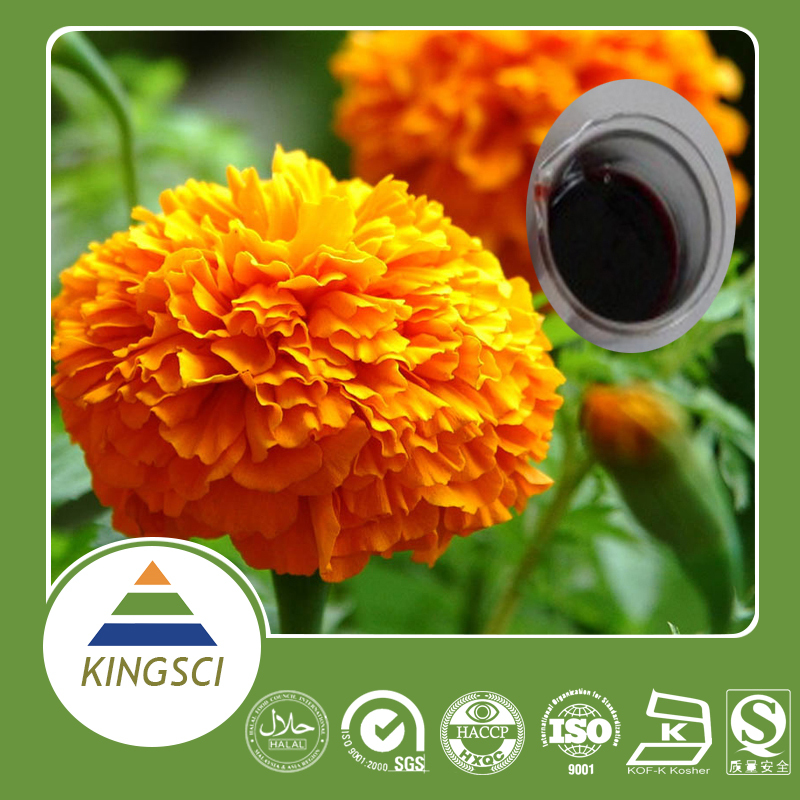 Lutein Oil and Lutein Liquid made from Marigold Extract
