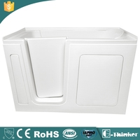 Wholesale acrylic walk in bathtub for disabled people