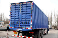 China famous brand shacman 8x4 cargo price of delivery truck