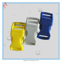 plastic strap buckle/press buckle/plastic double adjustable buckle for bracelet