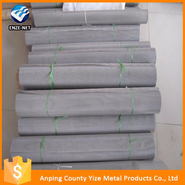 alibaba usa stainless steel silver metal mesh fabric/Twill 400 Fine Stainless Steel Woven Wire Filtration Mesh