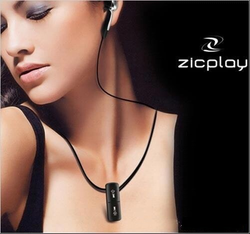 Built-in 2G 4G 8G Necklace mp3 player World smallest Music mp3 water proof LOGO gift MP3
