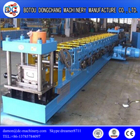 Metal jamb door frame roll forming machine