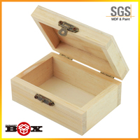 Handmade Wooden Storage Boxes Strong & Beautiful Plain box Display Quality Craft