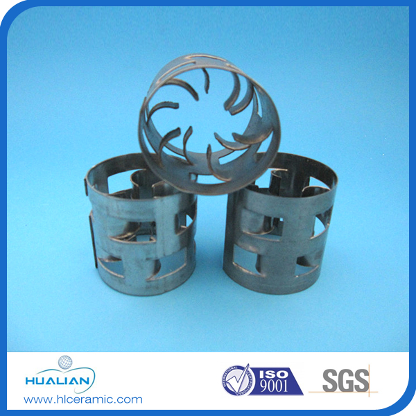 Mini metal pall ring tower packings used in packed tower