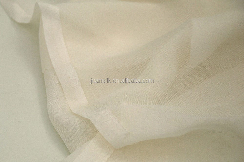 "6M/M SILK CHIFFON FABRIC FOR CLOTHING WIDTH:54"" PFD"