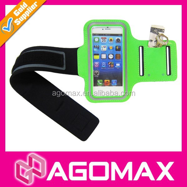 Sports waterproof armband case for cell phone Neoprene arm band