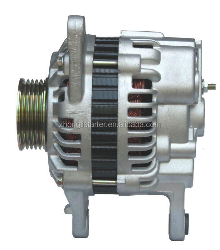 Good-quality auto alternator for Lioncel,BYD F3,Hafei Saima OEM: MD325696 Lester: 13750 Engine: 4G18