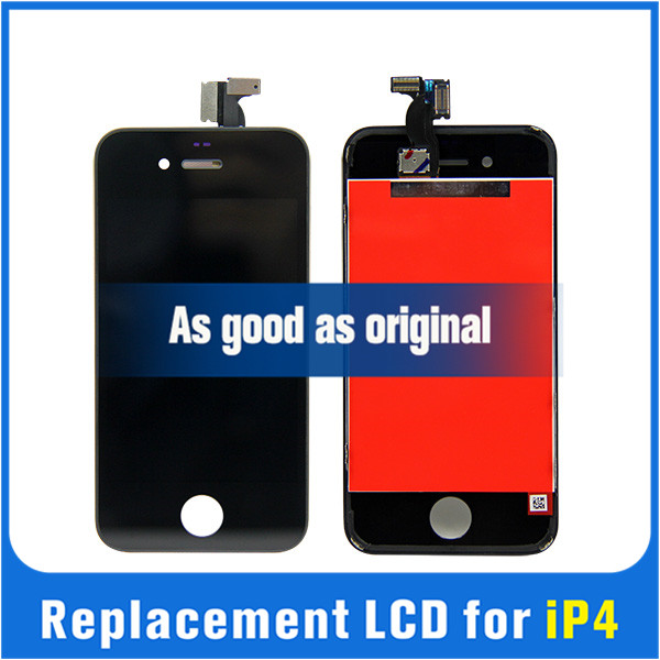 Find quality 1x For Apple iPhone 4 4G LCD Display Touch Screen digitizer + Bezel Frame w/ Tools Replacement Assembly