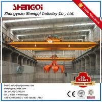 Grab And Magnet Two Purpose Overhead Crane