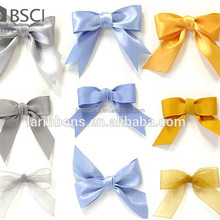 Wholesale Customized Satin Ribbon Bows Gift Packing Bow