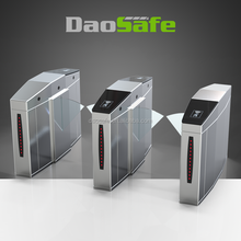 Entrance Control Flap Barrier Gate Indoor And Outdoor