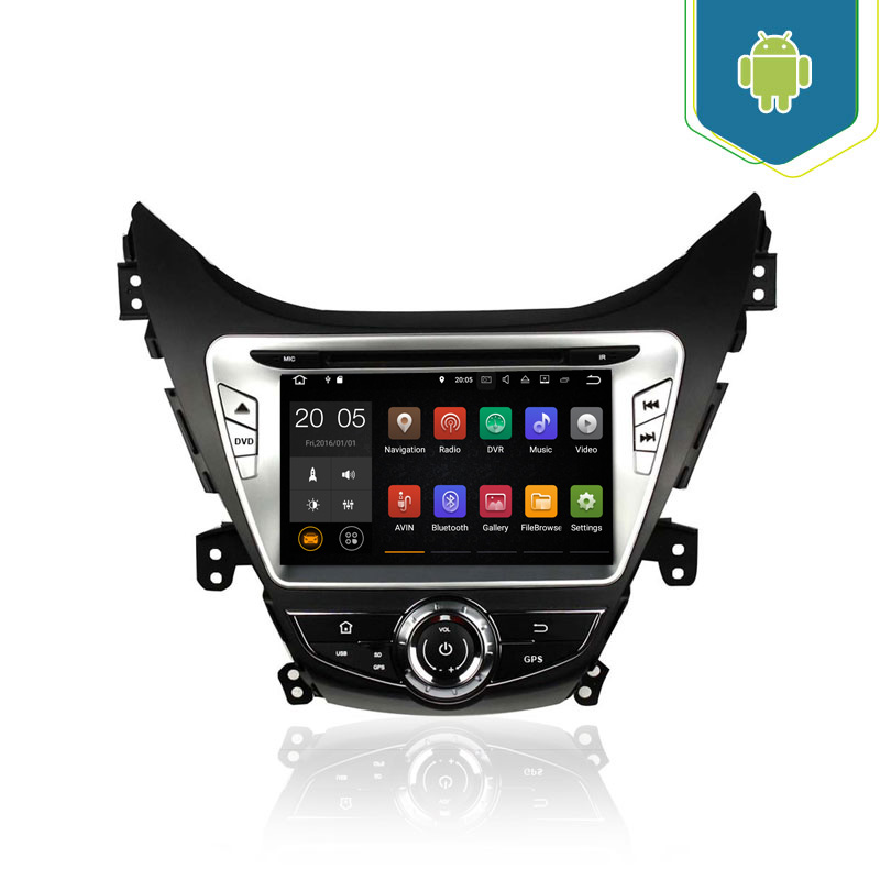 Car Audio Video Entertainment Navigation System for Hyundai Elantra 2012