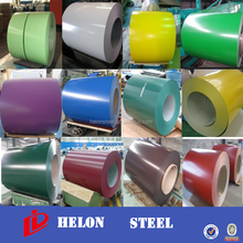 prepainted gi steel coil ! ppgi pet coating gi/gl color coating metal roofing sheet