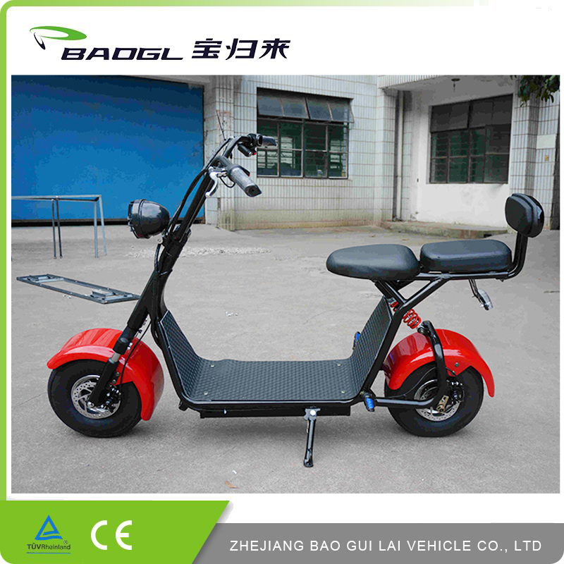 Chinese Made Aluminum Rear Carrier fat tire electric scooter