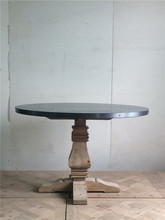 recycled 4 seaters round dining tables design
